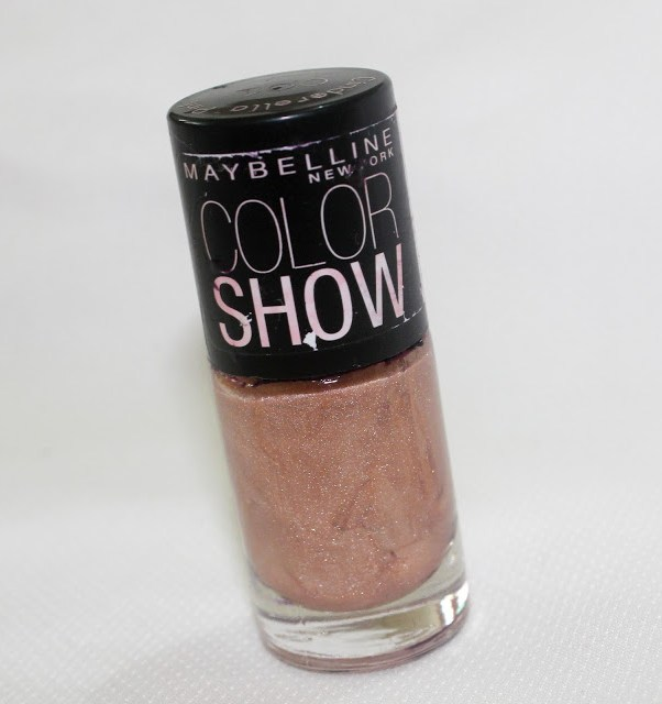 Maybelline Color Show Nail Enamel, Cinderella Pink 001: Review and NOTD