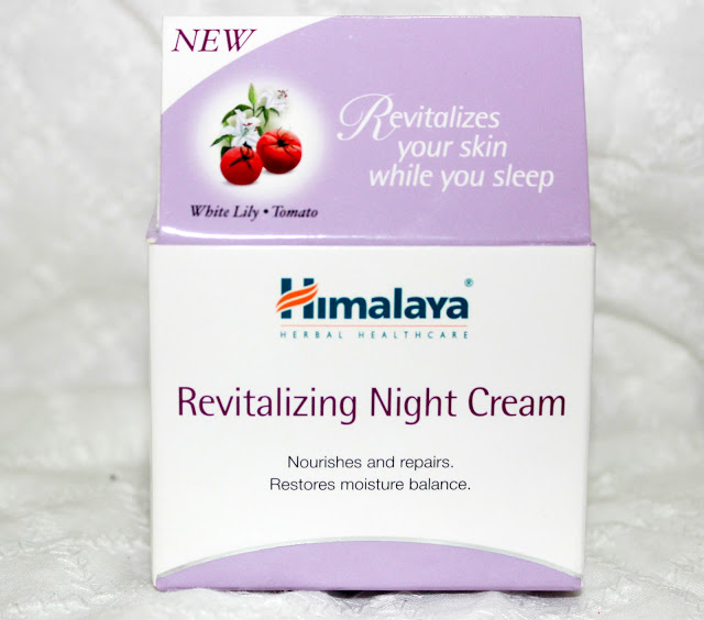 Himalaya Herbals Revitalizing Night Cream Review