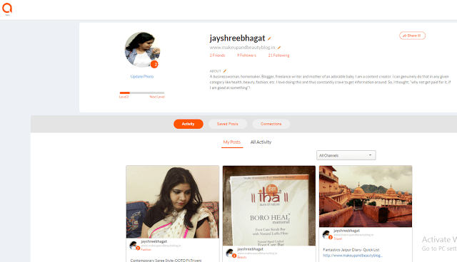 Affimity: Social Blogging Platform