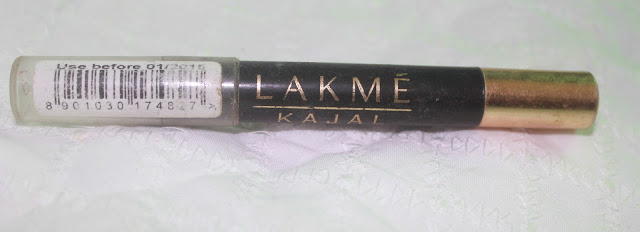 Lakme Kajal Pencil Review & Swatch