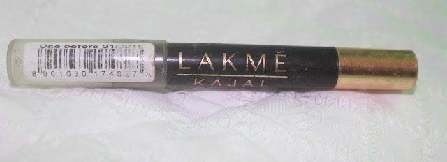Lakme Kajal Pencil Review & Swatch