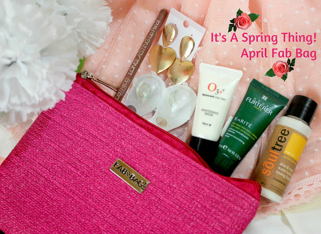 Fab Bag April 2016 Revealed: Its A Spring Time!