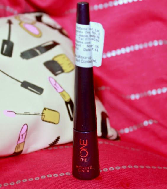 Oriflame The ONE Wonder Liner Black Review & EOTD