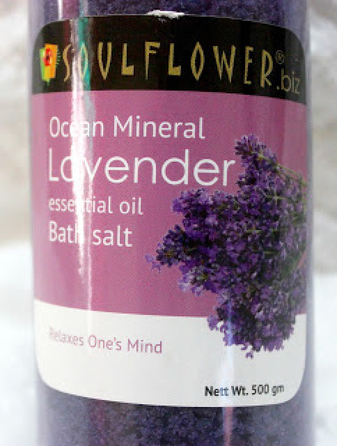 Soulflower Ocean Mineral Lavender Essential Oil Bath Salt Review
