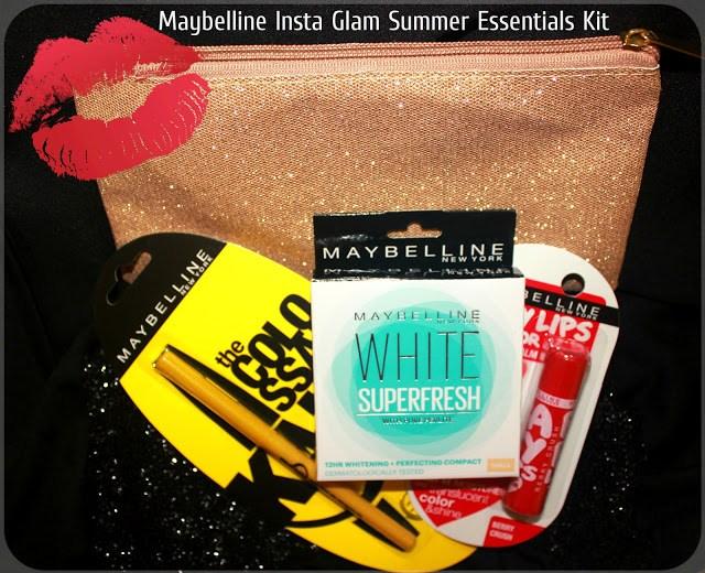 Maybelline Insta Glam Summer Essentials Kit