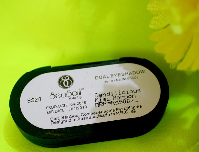 Seasoul Makeup HD Dual Eyeshadow