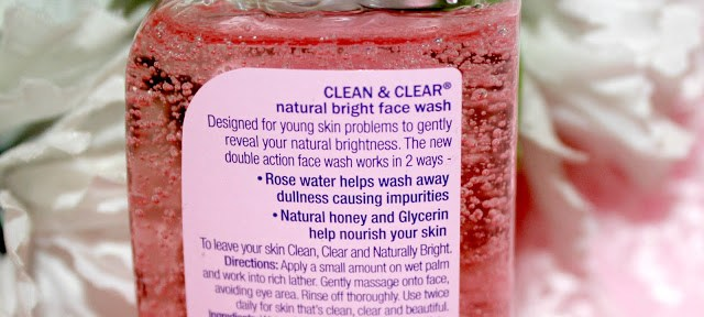 Clean & Clear Natural Bright Facewash Review