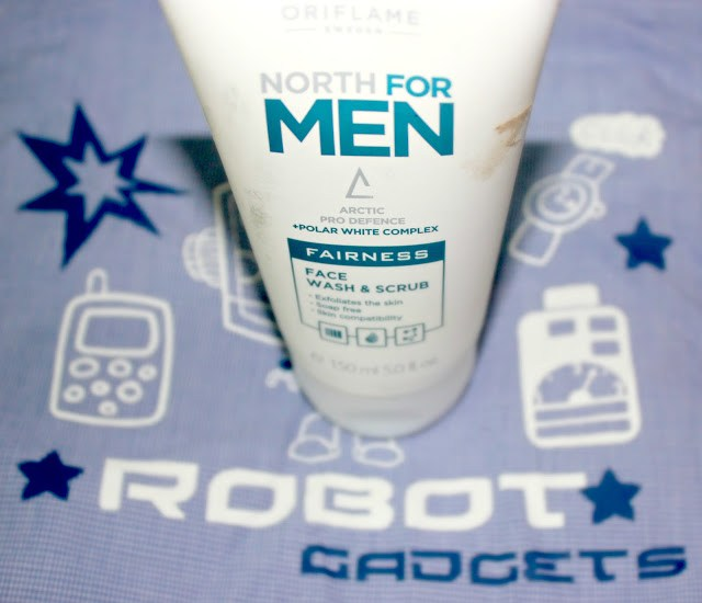 Oriflame North For Men Fairness Face Wash & Scrub Review