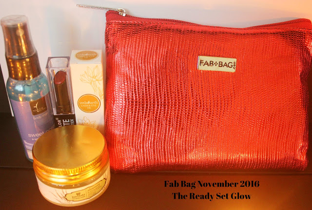 FAB BAG NOVEMBER 2016- THE READY SET GLOW REVIEW