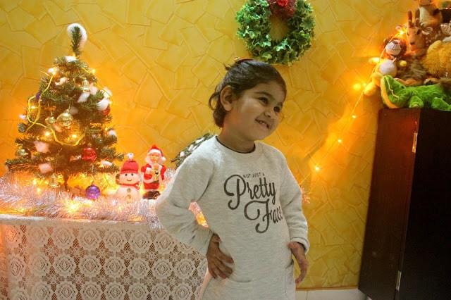 BABY PRE-CHRISTMAS OOTD