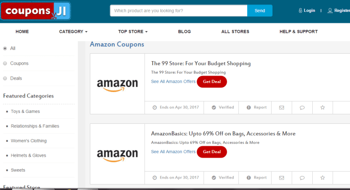 Couponsji Review - Online Couponing Site