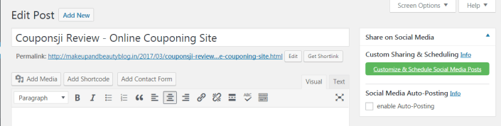 Social Media Auto Post & Scheduler Blog2Social WordPress Plugin Review