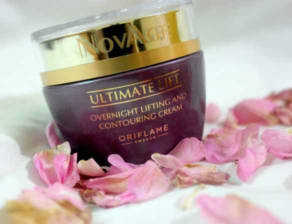 Oriflame Novage Ultimate Lift Overnight Lifting & Contouring Cream Review