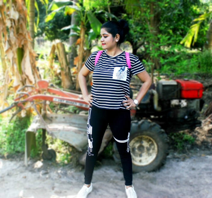 Quirky-Leggings-Magenta-Pop-Ft.-WSDear-OOTD