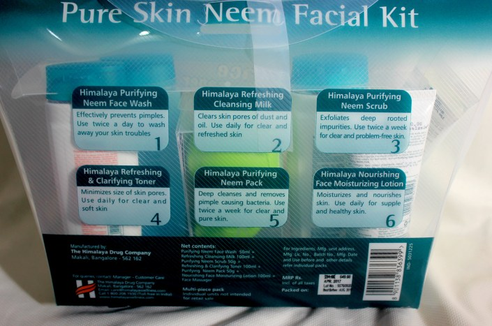 Himalaya Pure Skin Neem Facial Kit with Face Massager: Review & How to use