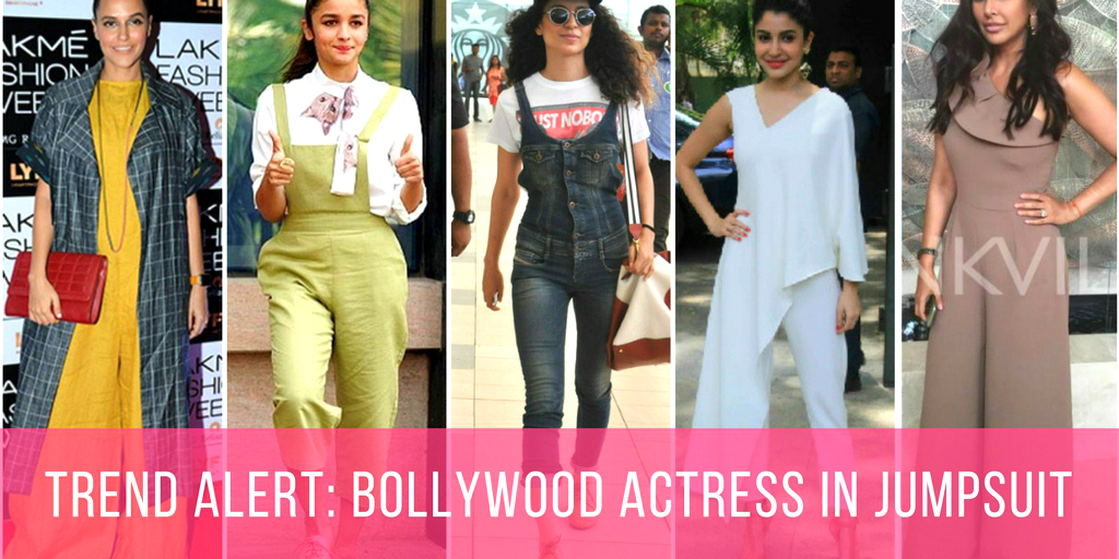 Trend Alert: Bollywood Actress In Jumpsuit