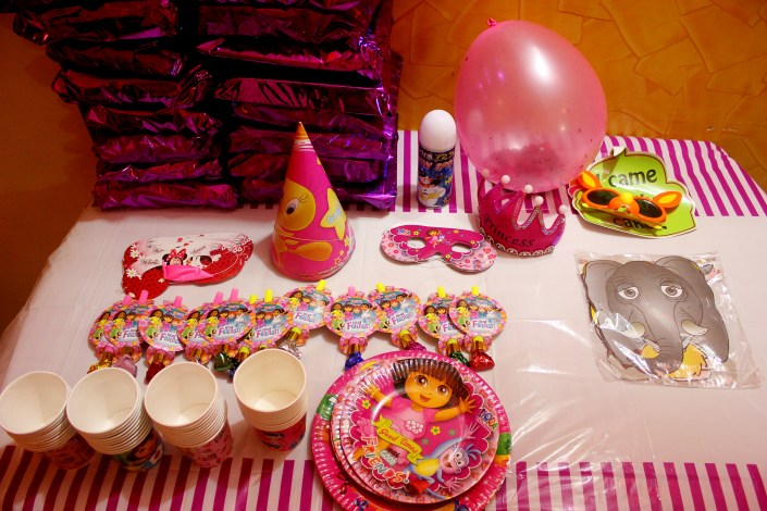 Dora The Explorer Theme Birthday Party