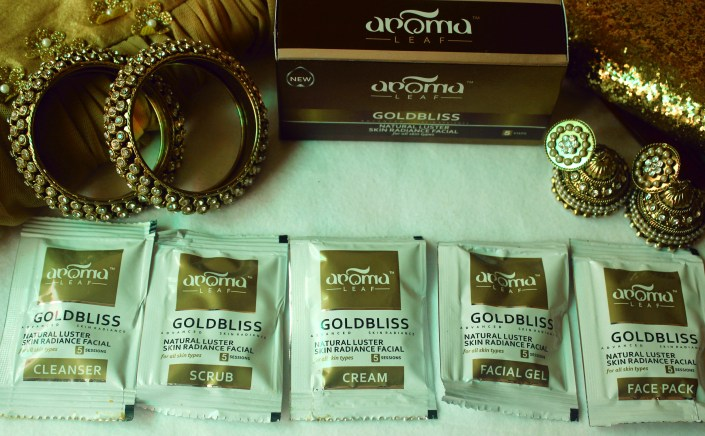 Aroma Leaf Goldbliss Facial Kit