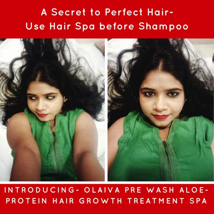 Olaiva Pre Wash Aloe-Protein Hair Growth Treatment Spa
