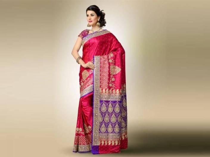 The Best Indian Banarasi Silk Saree Designers You Have To Follow