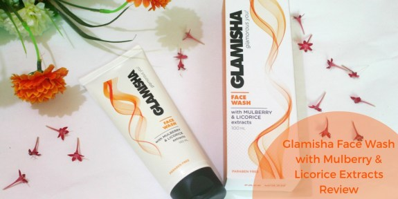 Glamisha Face Wash with Mulberry & Licorice Extracts Review