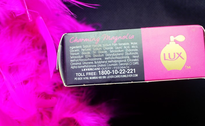 LUX Charming Magnolia Soap Bar Review