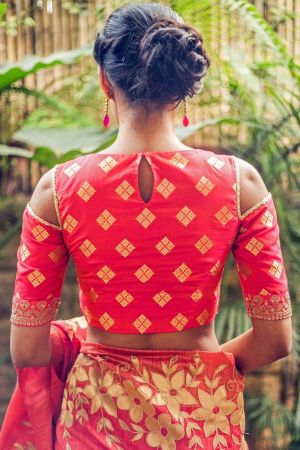 Buy Latest Saree Blouses Designs Online At Myntra