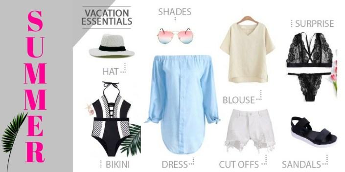 cc24da1bf6 Summer Vacation Essentials Wishlist Ft. Rosegal - Makeup Review ...