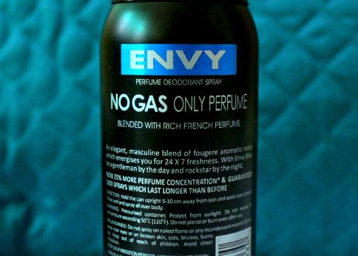 Envy Bleu Deodorant Spray - For Men Review!