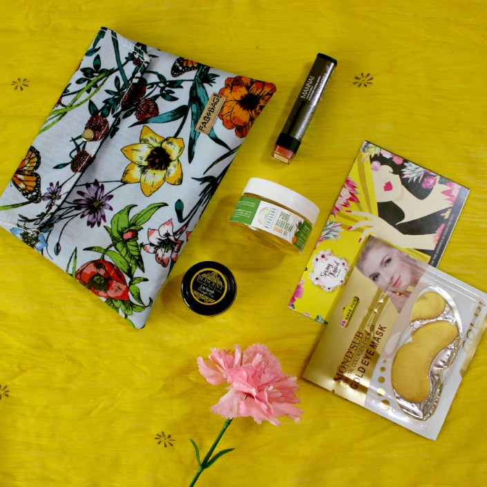 Fab Bag April 2018  The SPRING KISSED  Unboxing & Review