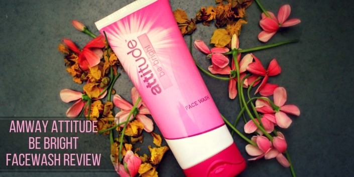 Amway Attitude Be Bright Face Wash Review