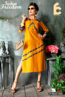 Modern And Trendy Western Style Kurtis