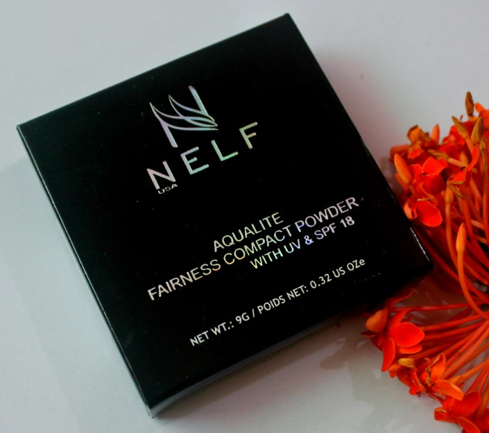 NELF USA Aqualite Fairness Compact Powder With UV & SPF 18 Review