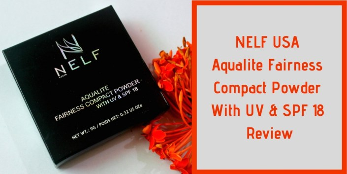 NELF USA Aqualite Fairness Compact Powder With UV & SPF 18 Review