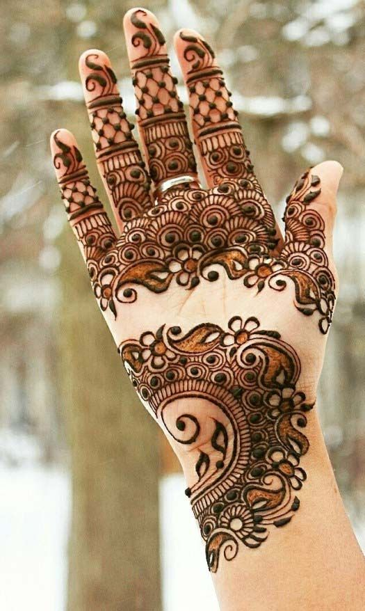 11 Simple, Quick \u0026 Latest Mehendi Design Images , Makeup