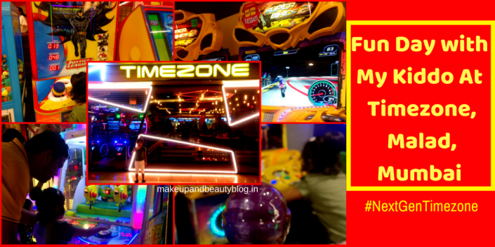 Fun Day with My Kiddo At #NextGenTimezone, Malad, Mumbai