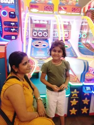 Fun Day with My Kiddo At #NextGenTimezone, Malad, Mumbai