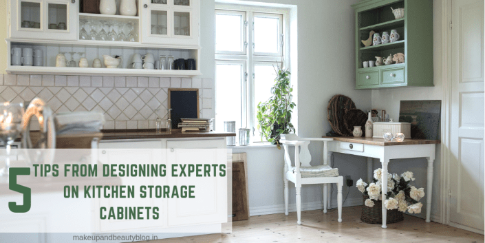 5 Tips From Designing Experts On Kitchen Storage Cabinets