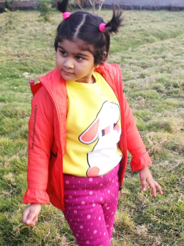 Toddler OOTD – Yellow Bunny Sweatshirt x Cherry Crumble