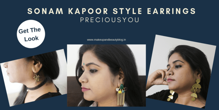 Get The Look: Sonam Kapoor Style Earrings | Preciousyou