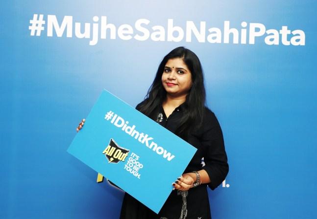 Mumbai Event: The All Out Campaign #MujheSabNahiPata