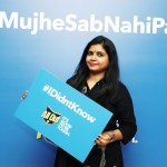 Mumbai Event: The All Out Campaign #MujheSabNahiPata