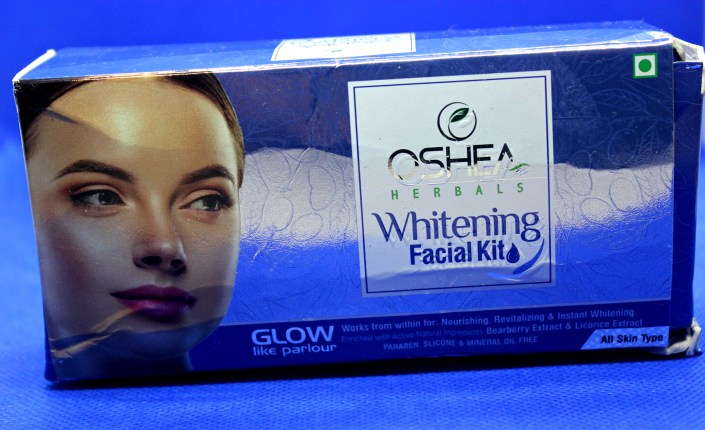 Oshea Herbals Whitening Facial Kit Review