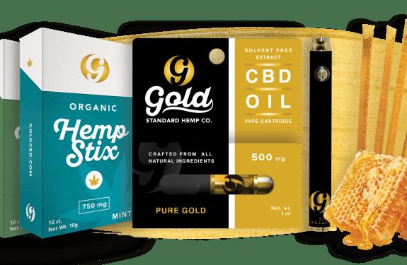 Gold Standard CBD Product Line