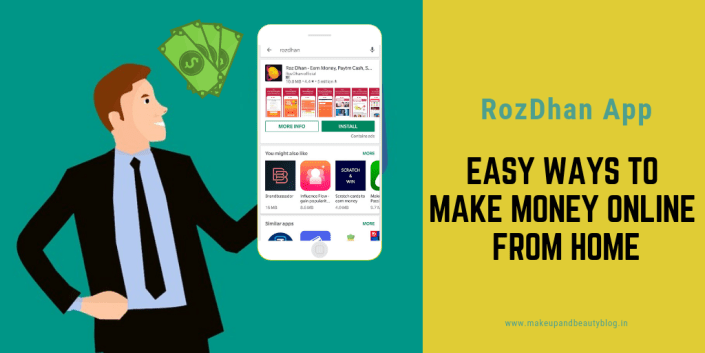 Earn Rs. 200 Per Day Online Through Android Mobile Apps | RozDhan App
