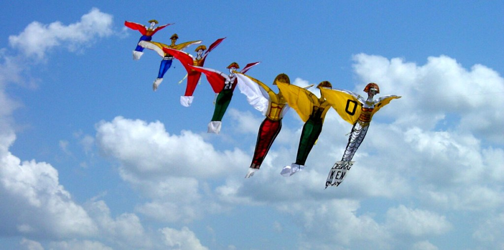 Kites and Clouds, Old World Charm