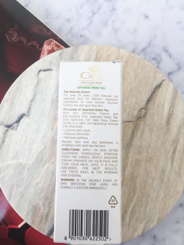 Citra Spot-less Fair Face Cream