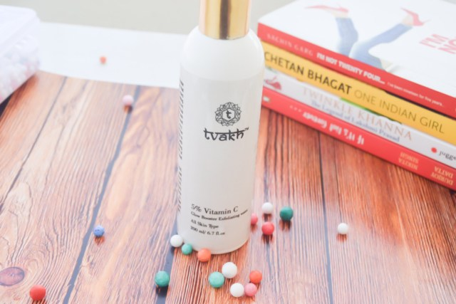 Tvakh exfoliating water