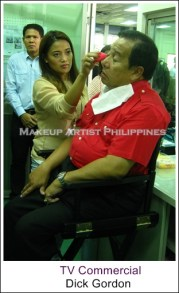 Celebrity Makeup Artist- Philippines with Dick Gordon