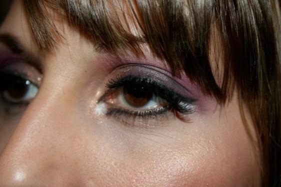 Left Eye Closeup of Corie